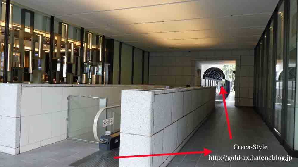セントレジスホテル大阪のアクセス