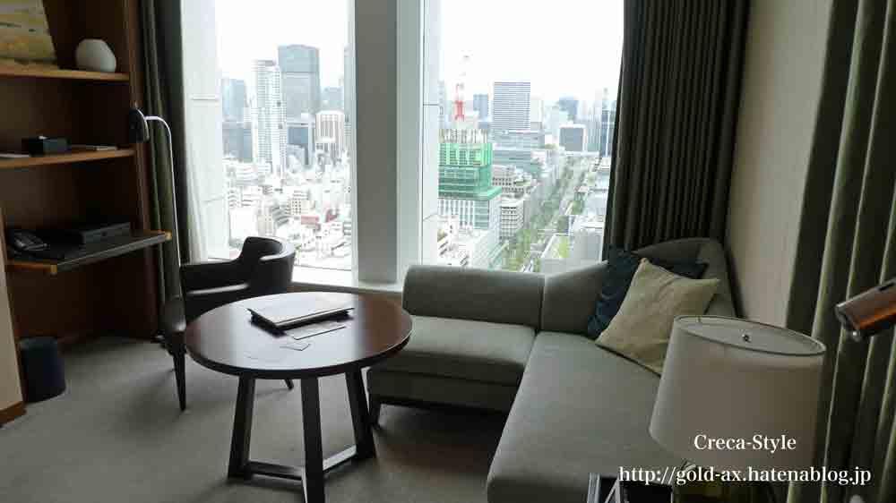 SPGアメックスのプラチナエリートでセントレジスホテル大阪でアップグレード