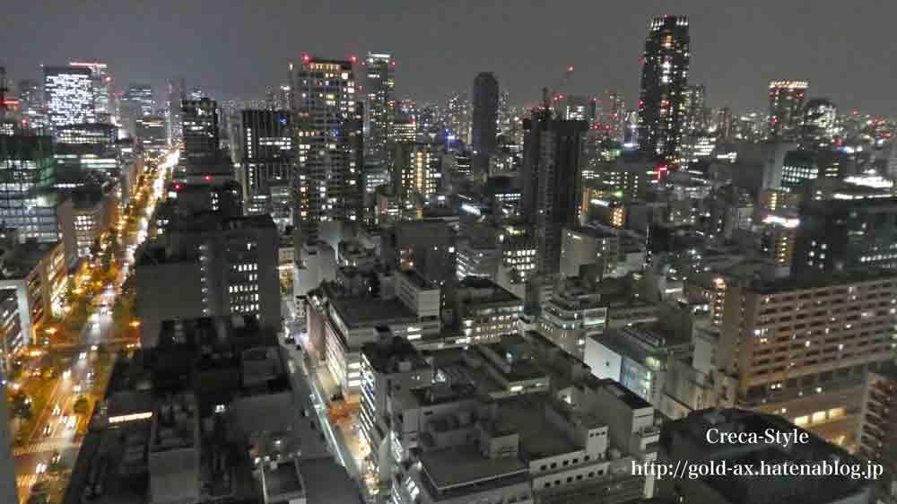 セントレジスホテル大阪から夜景
