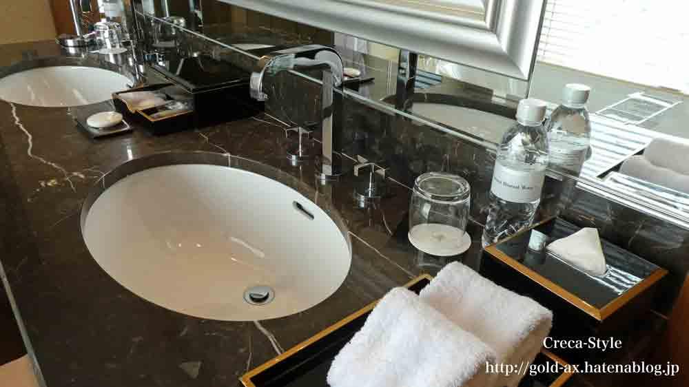 セントレジスホテル大阪のバスルーム