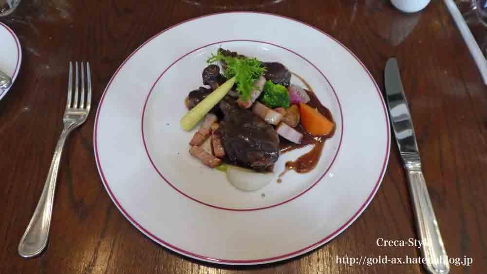 セントレジスホテル大阪のルドールでランチ お肉をセレクト