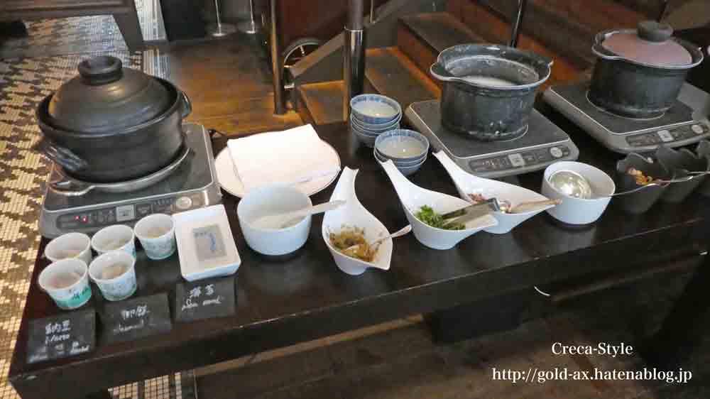 セントレジスホテル大阪の「ルドール」で朝食 ブッフェ 日本食
