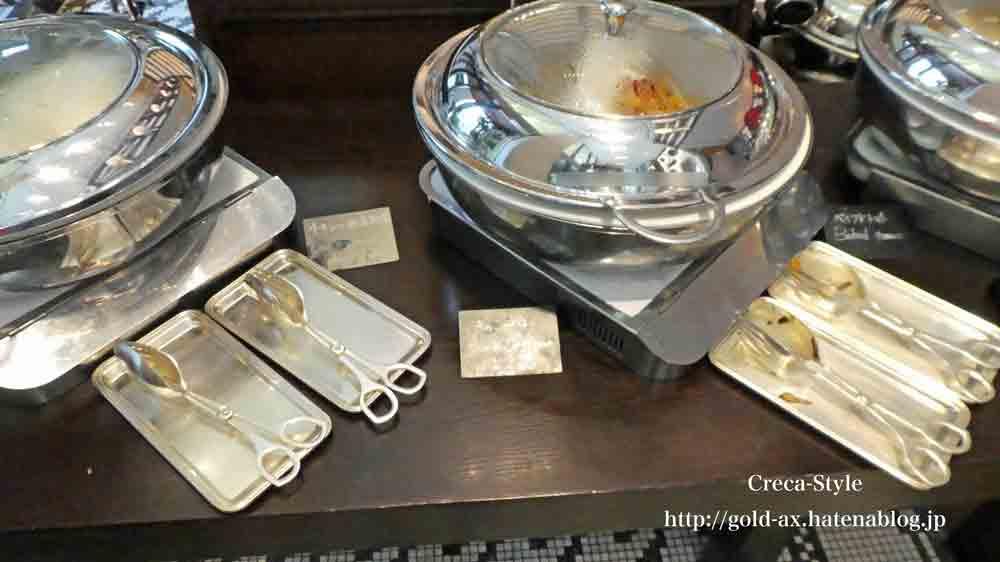 セントレジスホテル大阪の「ルドール」で朝食 ブッフェ