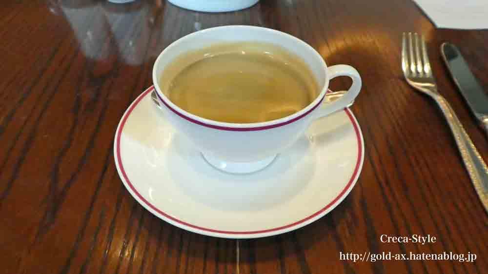 セントレジスホテル大阪の「ルドール」で朝食 ブッフェ コーヒー