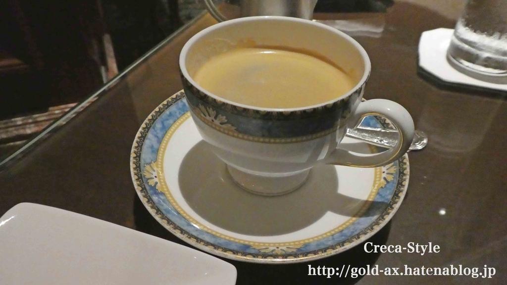 SPGアメックスでリッツカールトンでコーヒー