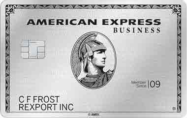アメックスビジネスプラチナのメタルカード 新デザイン(新券面)