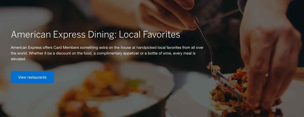 アメックスプラチナ「レストラン検索サービス」