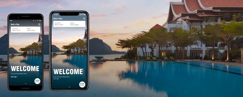 マリオットボンヴォイ(Marriott Bonvoy)アプリが誕生