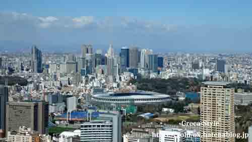 ザ・リッツ・カールトン東京 クラブラウンジ 新東京国立競技場
