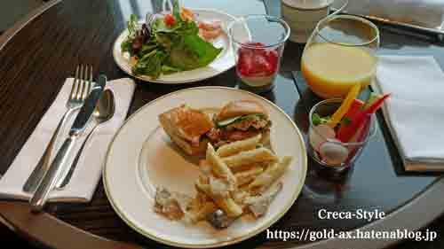 ザ・リッツ・カールトン東京 クラブラウンジで昼食