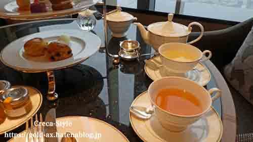 ザ・リッツ・カールトン東京 クラブラウンジでアフタヌーンティ 紅茶