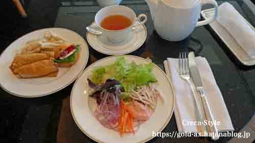 ザ・リッツ・カールトン東京 クラブラウンジで2回目の昼食