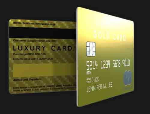 ラグジュアリーカードゴールドカード