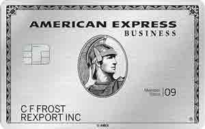アメックスビジネスプラチナのメタルカード(金属製)