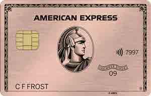 アメックスローズゴールド メタルカード(金属製)