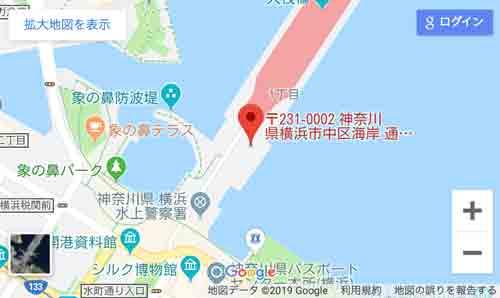 アメックス花火 HANAVIVA 2019が横浜大さん橋 アクセス