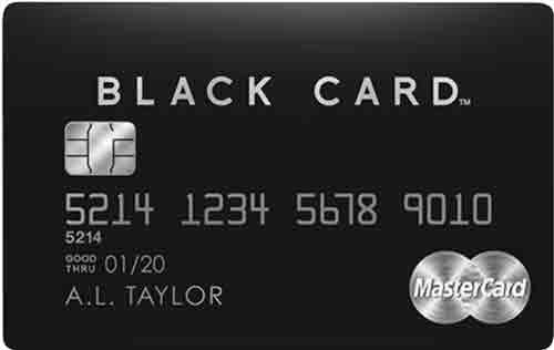 ラグジュアリーカード ブラックカード(金属製)