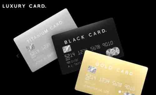 金属製のラグジュアリーカード(Luxury Card)