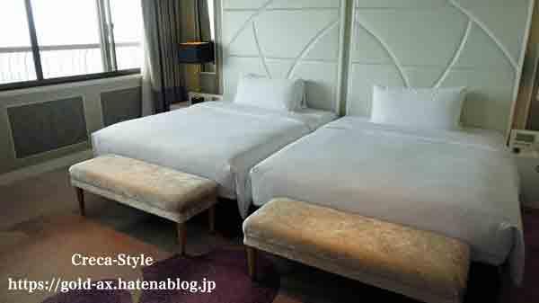 東京マリオットホテル スイートルーム