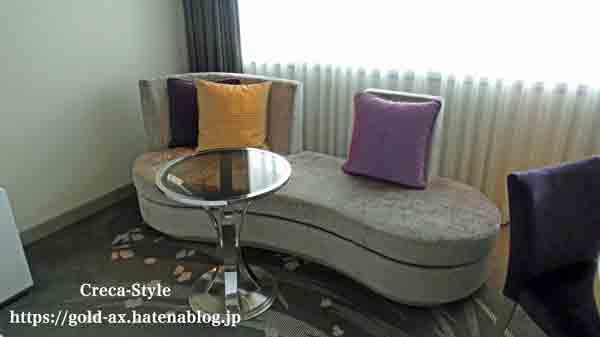 東京マリオットホテルの客室