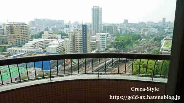 東京マリオットホテルからの眺め