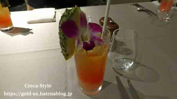 東京マリオットホテル レストランで食事