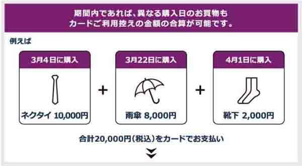 アメックス 阪急メンズ東京