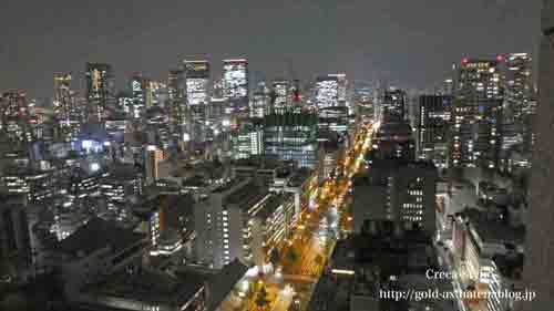 セントレジスホテル大阪 宿泊記 部屋からの眺望