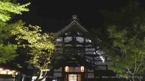 高台寺塔頭 圓徳院 ライトアップ プロジェクションマッピング