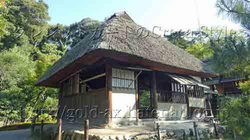 京都 高台寺 傘亭と時雨亭
