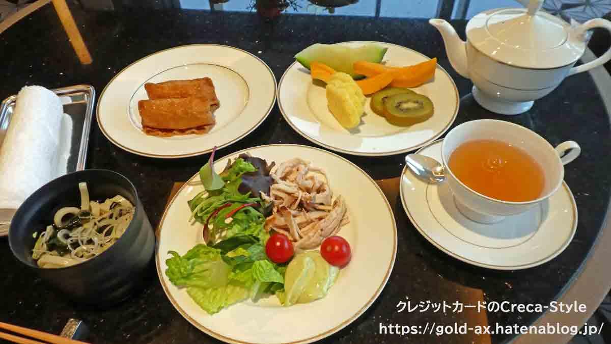 ファイン・ホテル・アンド・リゾート ザ・リッツ・カールトン東京宿泊記 翌日の昼食