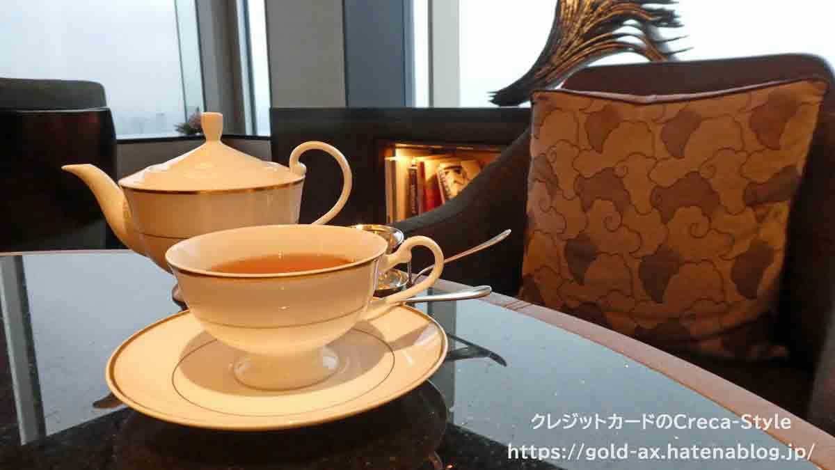 ファイン・ホテル・アンド・リゾート ザ・リッツ・カールトン東京宿泊記 翌日のアフタヌーンティー