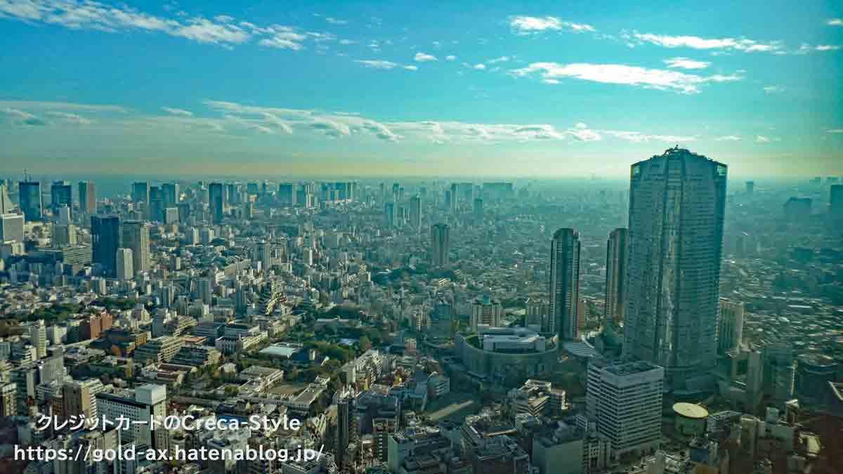 ファイン・ホテル・アンド・リゾート ザ・リッツ・カールトン東京宿泊記 眺望 六本木ヒルズ