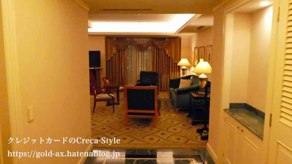 ウェスティンホテル東京 宿泊記 スイートルーム