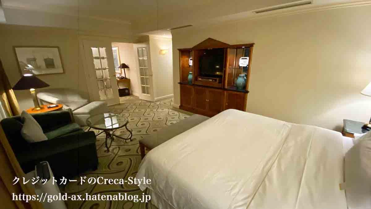 ウェスティンホテル東京 宿泊記 スイートのベッドルーム