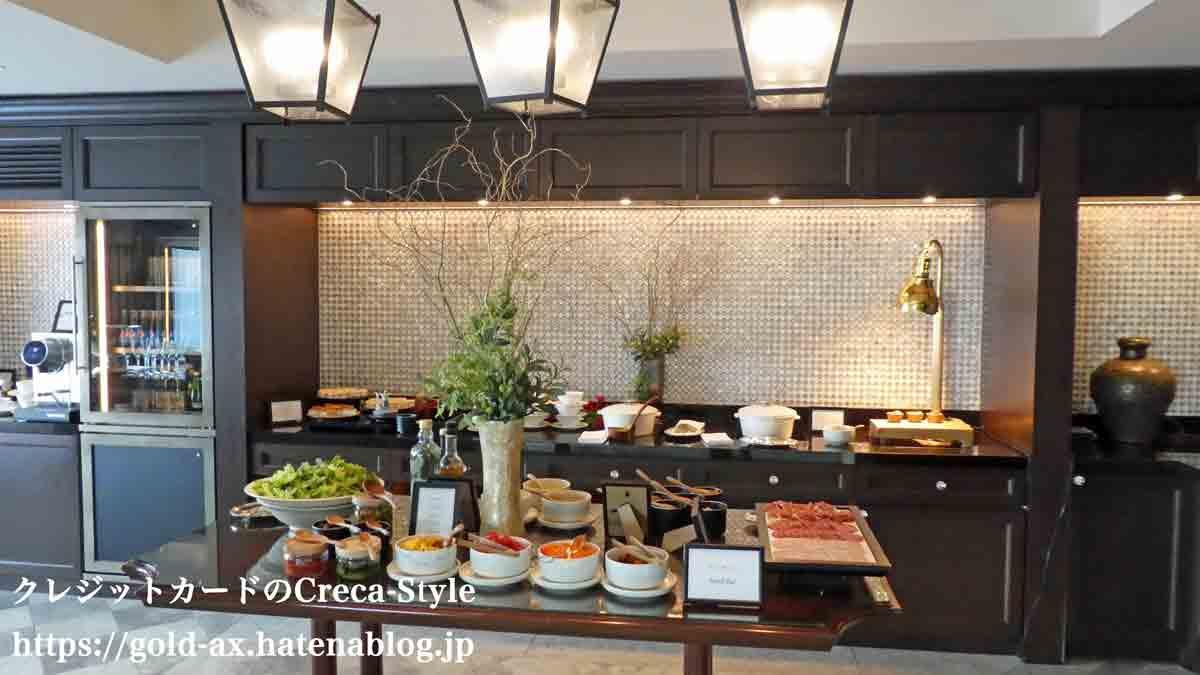 SPGアメックス無料宿泊 ザ・リッツ・カールトン大阪 クラブラウンジで昼食