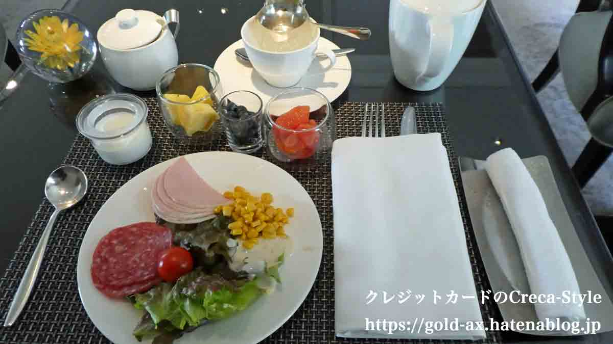 SPGアメックス無料宿泊 ザ・リッツ・カールトン大阪 朝食 クラブラウンジ