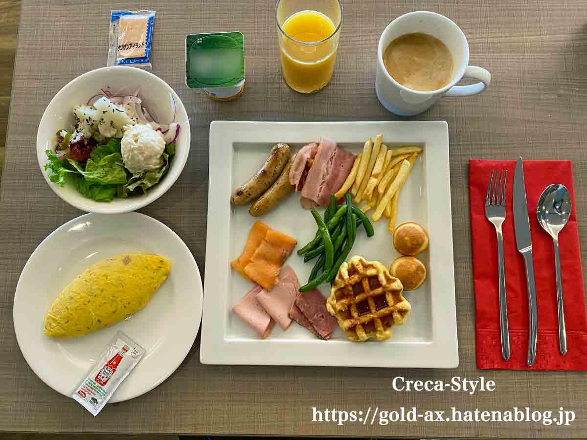 南紀白浜マリオットホテル宿泊記 朝食