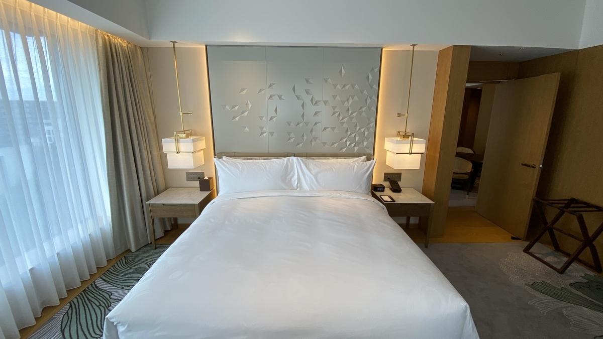 JWマリオットホテル奈良 宿泊記 部屋(スイート)