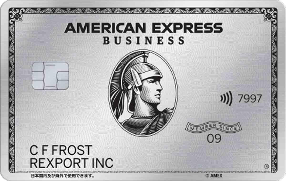 アメックスビジネスプラチナ メタルカード