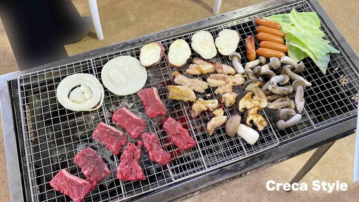 フェアフィールド・バイ・マリオット京都京丹波 宿泊記 バーベキュー BBQ
