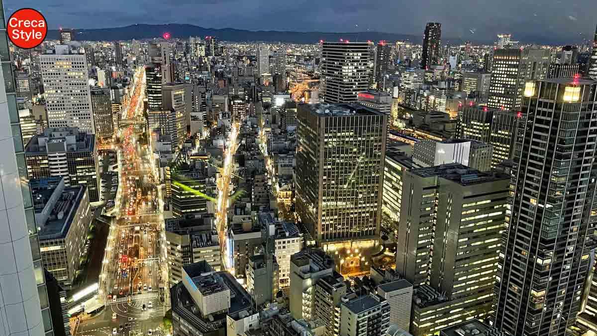 ザ・リッツ・カールトン大阪 宿泊記 客室 スカイビューデラックス 最上階37階