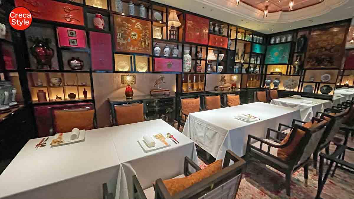 ザ・リッツ・カールトン大阪 宿泊記 夕食は香桃(シャンタオ)で中華