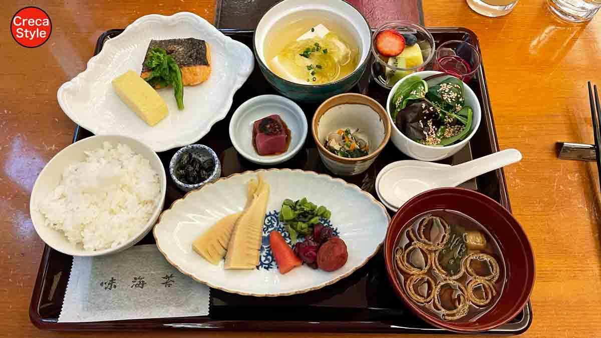 ザ・リッツ・カールトン大阪 朝食(和食)