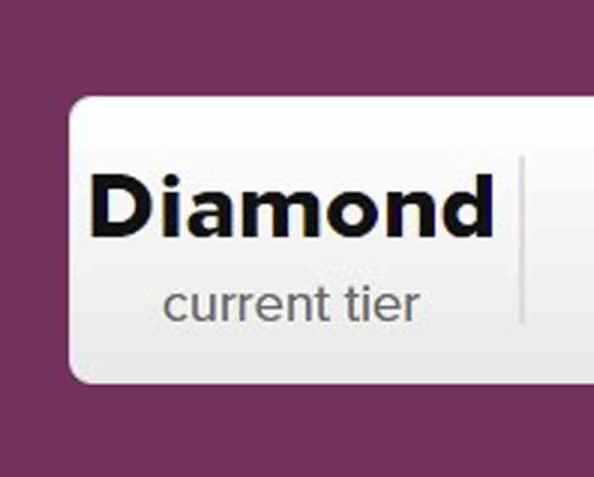 ヒルトンアメックスプレミアムでダイヤモンド