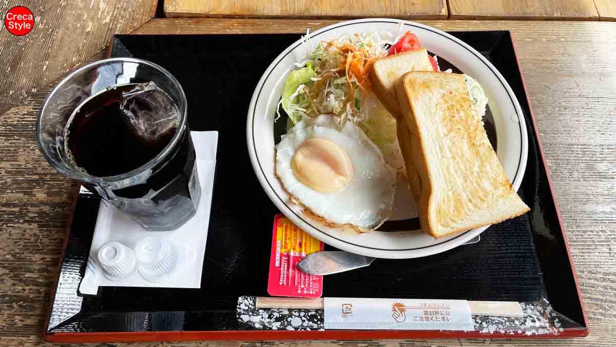 道の駅 奥伊勢おおだい 朝食