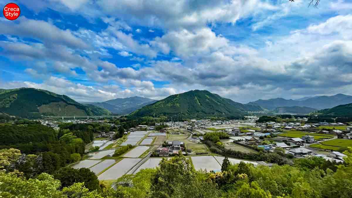 大台町 茶臼山からの大絶景