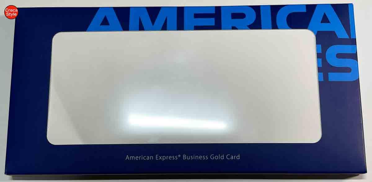 アメックスビジネスゴールド メタルカード