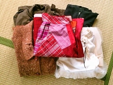 断捨離 衣類 スカート コート