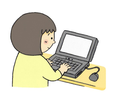 パソコン イラスト